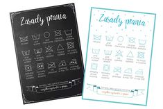 Printable posters for laundry room