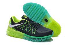 Cheap Nike Air Max WoMen green black yellow hot sale 379