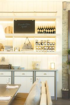 flourish design + style: inspired by | organic + rustic interiors two toned cabinet