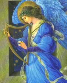 #Angels are messengers of unique vibrations just like a string on a harp is a unique vibration.