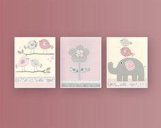Girl Nursery Decor Girl Nursery Art Baby Girl by DesignByMaya, $50.00