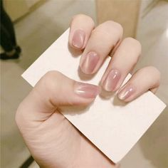 Neutral Nails, Nude Nails, My Nails, Coffin Nails, Acrylic Nails, French Nails, Natural Looking Nails, Nagel Hacks, Cat Eye Nails
