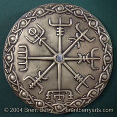 Vegvisir.  The Viking Compass.  My brother text me about this and I wouldn't mind getting this tattooed on me.  Then I wouldn't get lost.