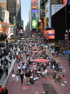 Cities for people: Jan Gehl by Mitra Anderson-Oliver. Jan Gehl, renowned Danish architect, urban design consultant and champion of the human scale, is a great believer in walking. Times Square (after). Photo courtesy Dept of Transport (DOT)