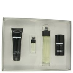 Perry Ellis Reserve Cologne by Perry Ellis 3.4 oz Eau De Toilette Spray and 3.0 oz After Shave Balm and 2.75 oz Deodorant Stick and 0.25 oz Edt