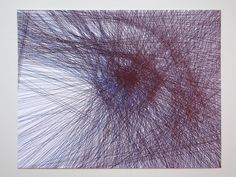 Drawing Experiment: The artist drew every line that goes through the whole Image, Ball Pen on Paper Image Ball, Pen Illustration, Illustrations, Whole Image, Aesthetic Photo, Kugel, Art World, Best Funny Pictures, Fractals