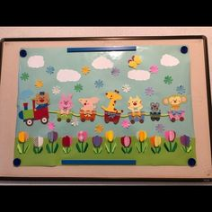 Bulletin Board Design, Classroom Decor, Wall Decor, Frame, Kids, Puppets, School Decorations, Fiestas, Home Decor Wall Art