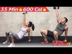 35 Min HIIT Workout for People Who Get Bored Easily - HIIT Workouts for Fat Loss at Home Men Women - YouTube