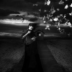 "Saatchi Online Artist: Patrick Gonzales; Black & White, 2012, Photography ""Untilted"""