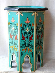Lots Of Neat Moroccan Furniture On Hip And Humble Home S Site Living The Bright Side Or A Whim In 2018 Pinterest Painted