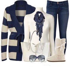 Winter Outfits For Ladies...