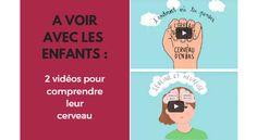 A VOIR AVEC LES ENFANTS : 2 vidéos courtes pour comprendre leur cerveau