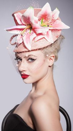 Jessika Hill Couture Millinery - El Jardin. Spring/Summer 2014 Collection inspired by flower gardens.