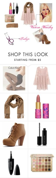 """Victorie Weasley"" by yatzilgirl on Polyvore featuring moda, Calvin Klein, Hermès, tarte, Marc Jacobs, Maybelline y Burberry"