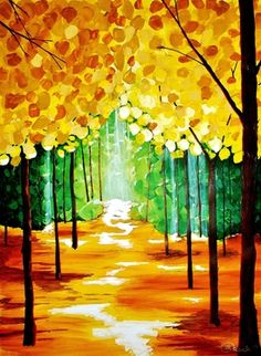 """Saatchi Online Artist Kyle Brock; Painting, """"Light from Above"""" #art  Maybe this look with different colors?"""