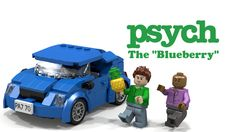 LEGO Psych Blueberry- Show your love Psych-os