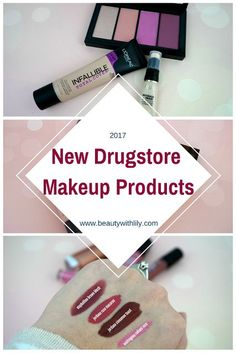 New Spring 2017 Drugstore Makeup Products | http://beautywithlily.com