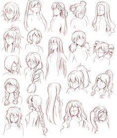 Une sélection de modèles de cheveux pour tous ceux qui sont en manque d'inspiration.
