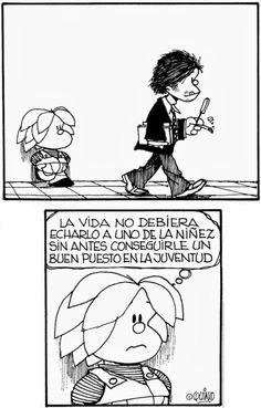 Mafalda Mafalda Comic, Mafalda Quotes, H Comic, Lucky Luke, Humor Grafico, Calvin And Hobbes, Sarcastic Quotes, Amazing Adventures, Happy Thoughts