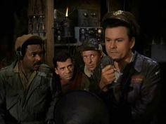 Sergeant Kinch, Corporal LeBeau, Sergeant Carter, and Colonel Hogan