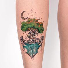 """11.9k Likes, 87 Comments - Robson Carvalho (@robcarvalhoart) on Instagram: """"✨ Temos muita vida em nossas mãos, foi assim q me inspirei pra criar a tattoo da Carol, que além de…"""""""
