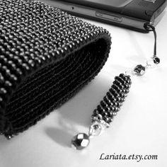 сумочка-чехол для телефона | biser.info - всё о бисере и бисерном творчестве