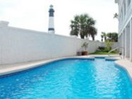 """Oceanview, freestanding Tybee Island home, """"Casa Verde"""". Spectacular views from each room, of the Atlantic Ocean & Lighthouse. 6 Bedrooms 5.5 Baths. Large Porches. All Amenities Included!"""