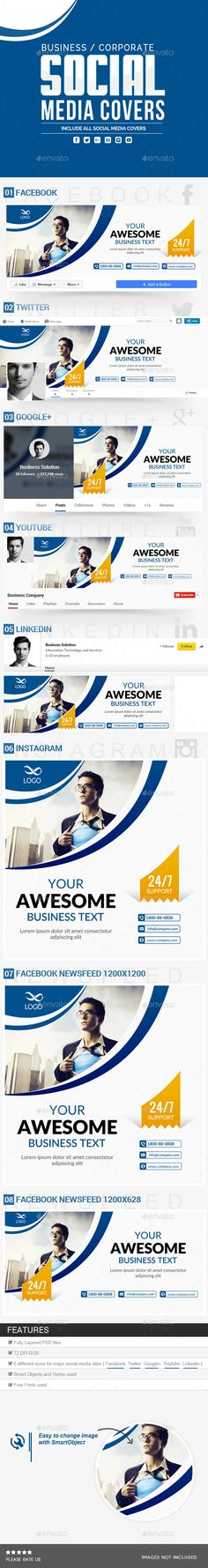 Linkedin social network business card social networks and business corporate social media covers colourmoves
