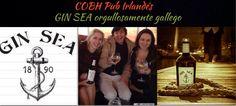 Este 4 enero 2014, GIN SEA en Cobh Pub, contaremos con la presencia del creador y propietario de esta Ginebra orgullosamente gallega. #Ginsea #cobhpub #sada #Spain