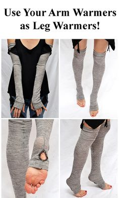 TRIXY XCHANGE  Extra Long Arm Warmers / Leg Warmers Mummy Gloves by TrixyXchange, $28.00