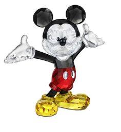 Mickey Mouse - Swarovski Disney Mickey Mouse Swarovski Crystal Figurine. 754cb90894