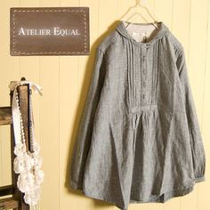 Similar to Folkwear's French cheesemaker's smock