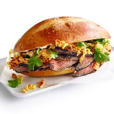 Korean Steak Sandwiches