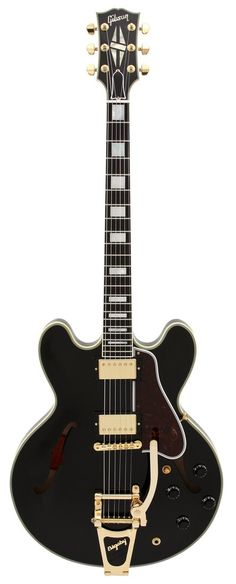 Gibson Custom Shop Electric Guitar ES 355 Antique Black with Bigsby | Rainbow Guitars