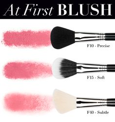 Feeling cheeky? Learn all about Sigma's blush brushes! Read more: http://www.sigmabeautytalk.com/2013/08/28/brush-function-blush/