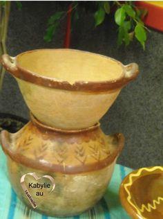 Découvrir l'art de la poterie en Kabylie. Couscoussier ancien.