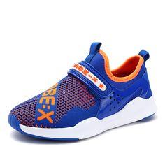 2017 New Arrival Summer Children Shoes For Boy Girls Mesh Sports Sneakers Soft Bottom Black Blue For Kids Comfortable breathable #Affiliate