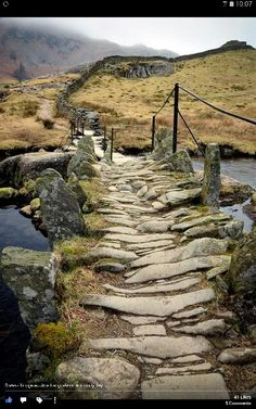 """island of silencewanderthewood: """" Slater's bridge, Little Langdale, Lake District, England by Jason Connolly """"Morning in the atmospheric countryside of the Lake. - in the atmospheric countryside of the Lake. The Places Youll Go, Places To Go, Landscape Photography, Nature Photography, Travel Photography, Old Stone, English Countryside, Belle Photo, Beautiful Landscapes"""