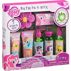 My Little Pony Gallopin' Green Apple Scented Bath-in-a-Box, 7 pc Little Girl Toys, Baby Girl Toys, Toys For Girls, Little Girls, Lol Dolls, Barbie Dolls, Fun Crafts, Crafts For Kids, Hello Kitty House