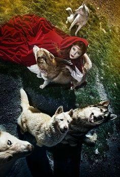 Les albums de Céline E.: Le Petit Chaperon Rouge - Opus 3