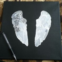 part 1   #coldplayer #painting #drawing #art #blackandwhite #slovakia #wings #ghoststories #coldplayer #coldplay