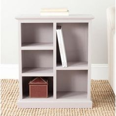 Safavieh Maralah 5-Shelf Bookcase, Gray