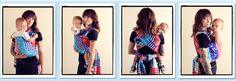 Pocket Wrap Cross Carry / PWCC  {from Babywearing 102: Wrapping 360 Project}  ***long wrap carry