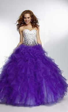 Not tulle, but still poofy and amazing :)