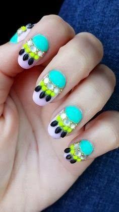 Beautiful Summer Nail Designs 2014