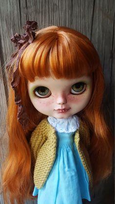 SOLD OUT Sunshine. blythe doll ooak custom de par PommedAmourDolls