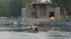 Frank Lloyd Wright Boat House, West Side Rowing Club, Buffalo