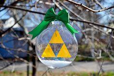 The Legend of Zelda: Triforce | Christmas Tree Ornament • www.thewiredlife.net/shop
