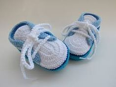 Resultado de imagen para sapatinhos bebe crochet