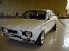 Ford automobile - good image - Before After DIY Escort Mk1, Ford Escort, Ford Rs, Car Ford, Ford Capri, Cool Sports Cars, Sport Cars, Retro Cars, Vintage Cars
